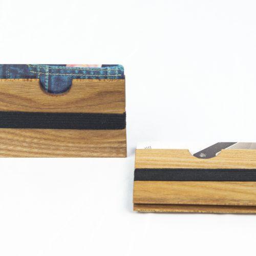 Porta carte fronte e lato